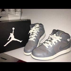 Jordan in gray